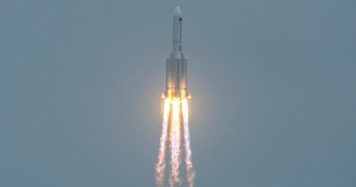 Here are 5 ways to track the uncontrolled Long March 5B rocket re-entry
