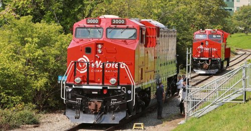 Electrification is coming to freight trains... slowly