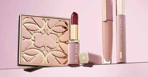 Elie Saab's L'Oréal Collab Is Bringing You High End Makeup For Under £20