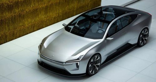 Polestar's sleek Precept electric car is soon to be a reality