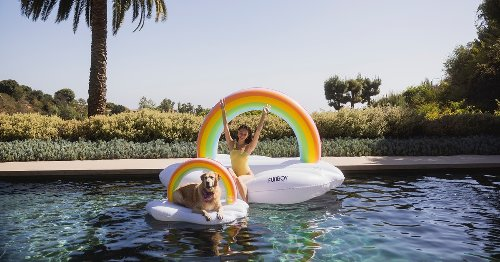 These Dog Pool Floats Will Keep Your Pup Chill AF