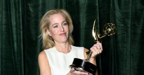 A Reporter Asked Gillian Anderson If She Consulted Margaret Thatcher, Who Is Dead