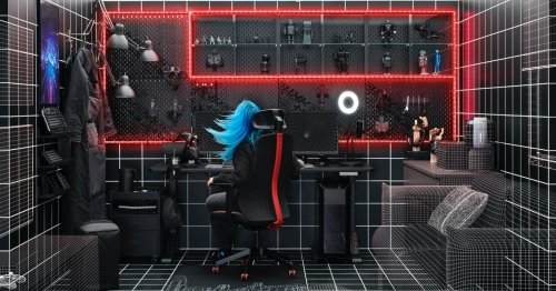 IKEA and ROG collab: Gaming furniture grows up
