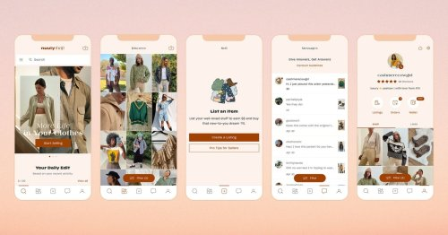 With eyes on Depop and Poshmark, Urban Outfitters' thrifting app is here