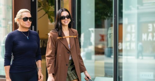 Dua Lipa, Ready For Fall, Steps Out With Yolanda Hadid With a Potential new 'It' Bag