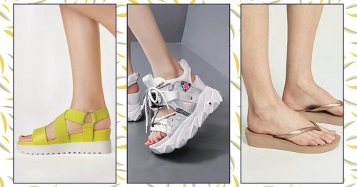 14 Pairs Of Platform Sandals That Are Stylish, Comfortable & Perfect For Summer