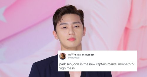 Fans Are Thrilled Over Rumors Park Seo Joon Will Star In The 'Captain Marvel' Sequel