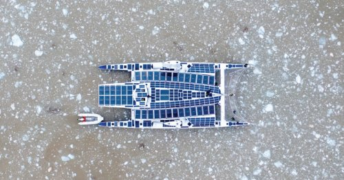 New boat generates all of its power from solar and hydro energy