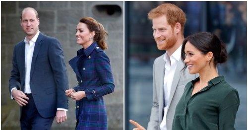 """The Reported Reason William & Kate See """"No Reason"""" To Talk To Meghan & Harry Is Hypocritical"""