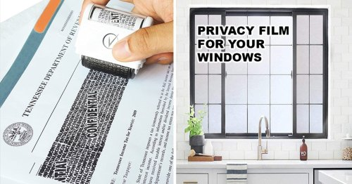 If you want more privacy in your own home, check out these 35 genius things on Amazon