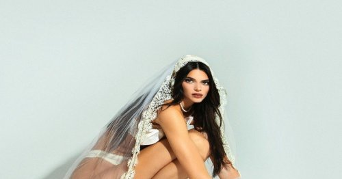 Kendall Jenner Was A Halloween Corpse Bride, But Made It Sexy