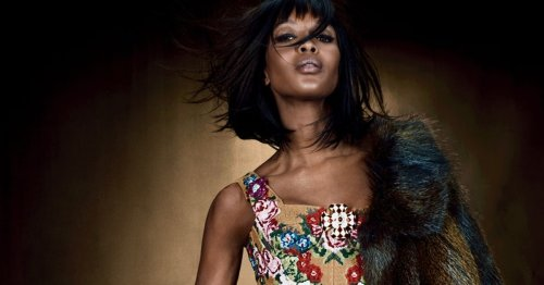 Naomi Campbell, 50, Welcomes Her First Child