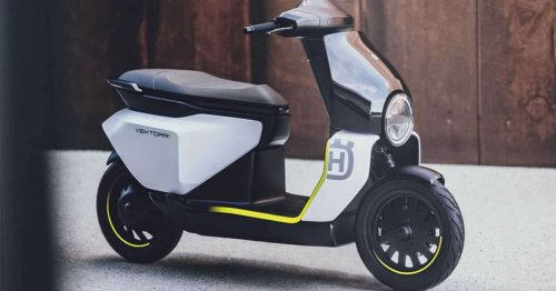 Here's a first look at Husqvarna's sexy, new e-scooter concept