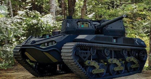 The U.S. Army is developing heavily armed robot tanks to fight alongside humans