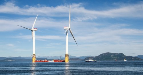 Open-Ocean Wind Farms Could Meet Current Global Energy Demand