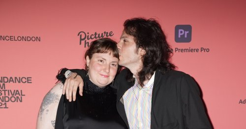 """Newlyweds Lena Dunham & Luis Felber Met On A Blind Date & Talked For """"8 Hours"""""""