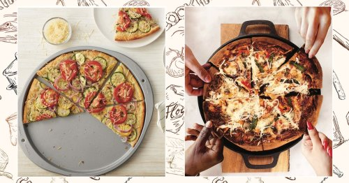 These Pans Are The Secret To Restaurant-Quality Pizza In A Home Oven