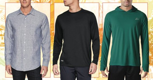 From crew necks to button-downs, these are the 10 best long-sleeve shirts for hot weather
