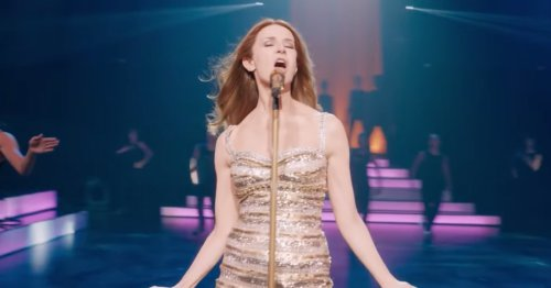 The unofficial Celine Dion biopic is already a hot mess