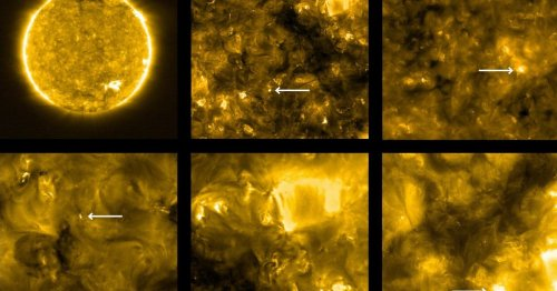 NASA just released the closest pictures ever taken of the Sun