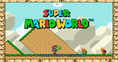 'Super Mario World' can now be played in glorious widescreen