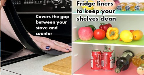 If Your Kitchen Is Gross, These 40 Cheap, Easy Hacks Will Be Life-Changing