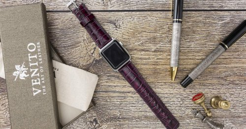 These 7 Leather Apple Watch Bands Make Your Timepiece Look So Much More Luxe