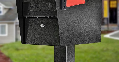 Mail Theft? No Way — These Locking Mailboxes Offer Major Peace Of Mind & One's Just $18