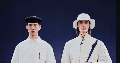 Dior and Sacai go big on their first collaboration with 57 co-branded pieces