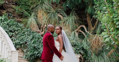 Issa Rae Marries in Vera Wang at a Fairy Tale French Ceremony