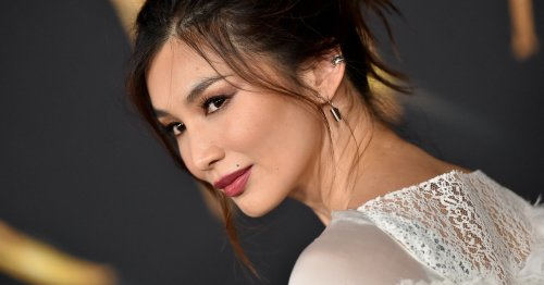 Gemma Chan's Minimalist Glam French Manicure Is Perfect For The Holiday Season
