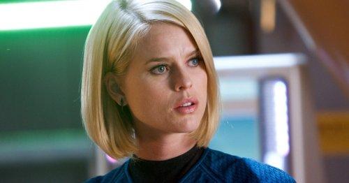 "Alice Eve defends her controversial Star Trek scene: ""I'm proud of that"""