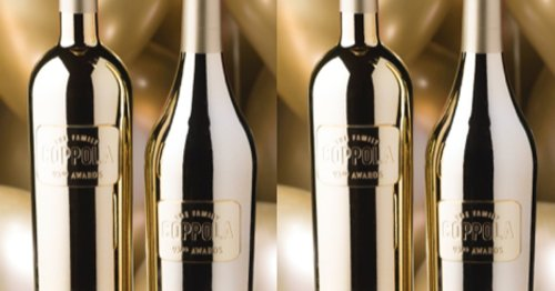 These Gold Wine Bottles For The Oscars Are A Splurge You Can Totally Repurpose