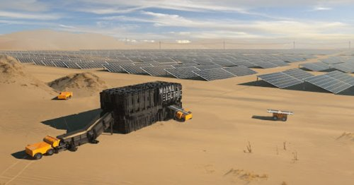 These Moon-bound boxes turn sand into solar energy