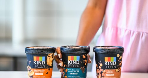 These KIND FROZEN Pints Of Vegan Ice Cream Are Plant-Based Treats