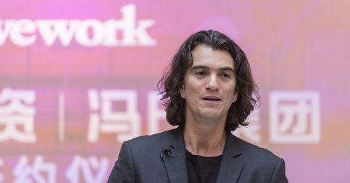 WeWork's founder got so high on private jet the crew had to put on oxygen masks