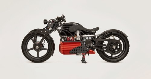 This electric cruiser motorcycle is as expensive as it is beautiful