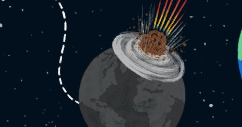 What would happen if a giant asteroid hit the earth?
