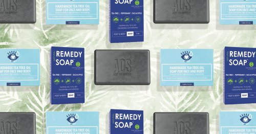 5 Tea Tree Oil Soaps That Soothe Dry, Itchy Skin While You Lather Up