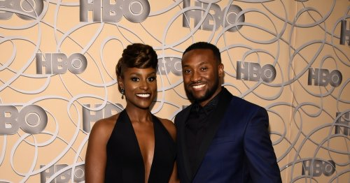 Issa Rae's Wedding Reception Dress Featured This 2000s-Inspired Detail