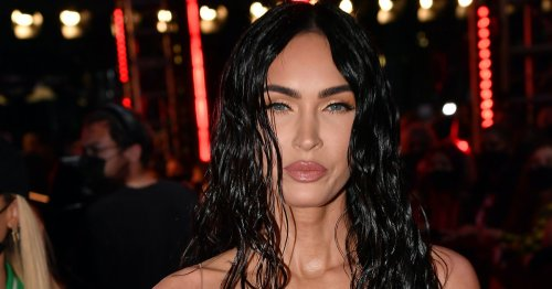 Megan Fox Wore A COMPLETELY Sheer Dress With Sparkly Underwear To The VMAs