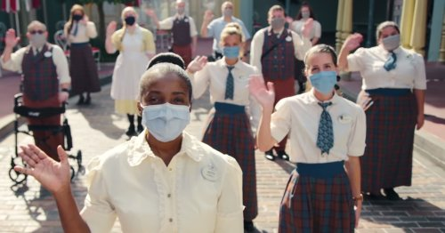This new Disney World ad feels as dystopian as visiting a theme park in a pandemic should