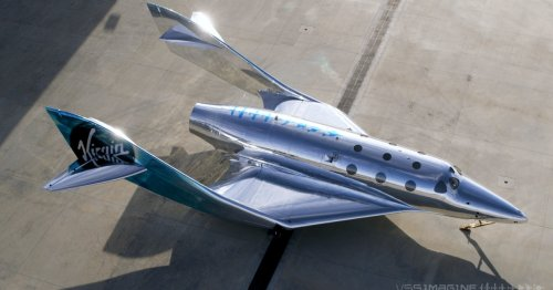 Virgin Galactic's newest, shiniest ship brings space tourism closer to reality
