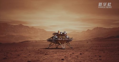Zhurong Mars selfie and more: Understand the world through 10 images
