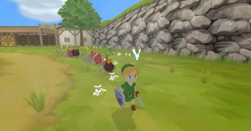 Behold 'Ocarina of Time' and 'Wind Waker' intertwined