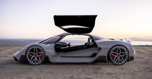 The Apricale is a hydrogen-powered hypercar coming in 2023