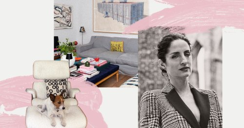 Carolina A. Herrera's Colorful New Madrid Home Is About As Dreamy As You'd Expect