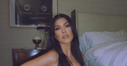 Kourtney Kardashian Wore Her Most Sensual Date-Night Outfit Yet