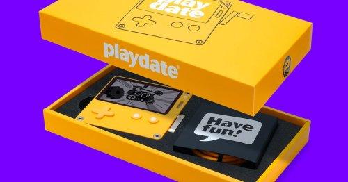 Panic's cute Playdate handheld is doing impressive pre-order numbers