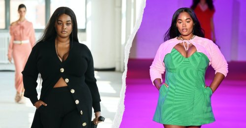 This Plus-Size Model Walked In Almost Every Major Show At Fashion Week
